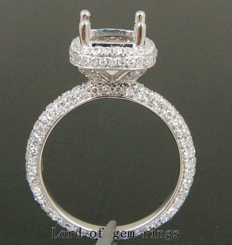 Reserved for af992012, Custom Semi Mount Engagement Ring, for 5.9mm Round - Lord of Gem Rings - 1