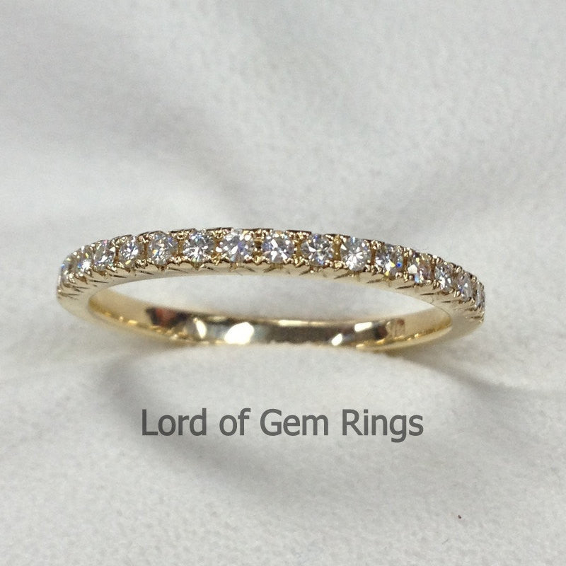 Reserved for Drew, one 1.5mm moissanite, shippig cost - Lord of Gem Rings - 1