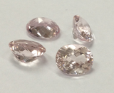 Morganite loose stones, for custom  Engagement or Wedding Ring with accent diamonds or gemstones - Lord of Gem Rings - 4