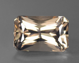 Reserved for umberger Custom Pave diamond Semi Mount for  Emerald Cut Morganite 14K White Gold