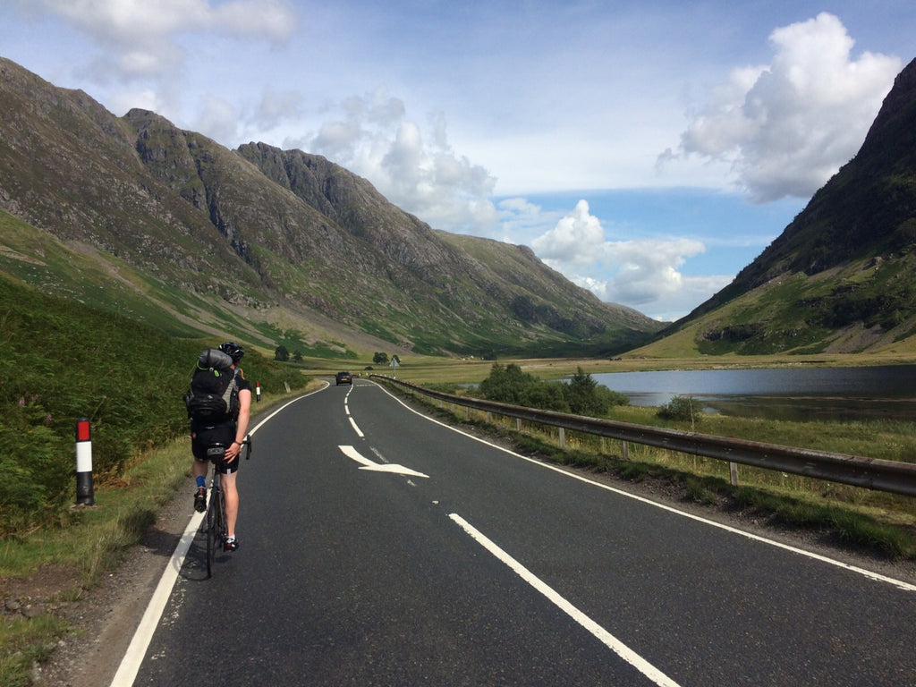 Edinburgh to Glasgow - A Cycling Tour Of Scotland