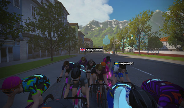 how to start zwift racing