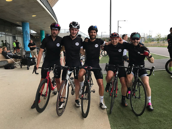 cycling race team in London