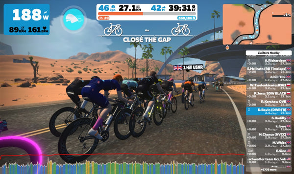 What is Zwift racing