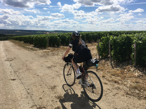 Bike touring in France