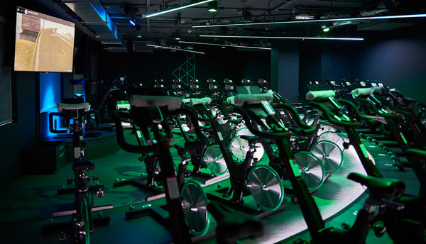 indoor cycling class London