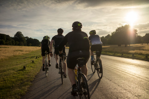 Group cycling in London