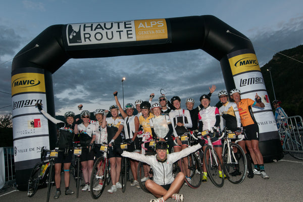 How to enter the Haute route