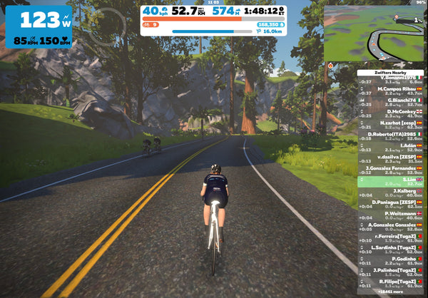 Zwift racing for beginners