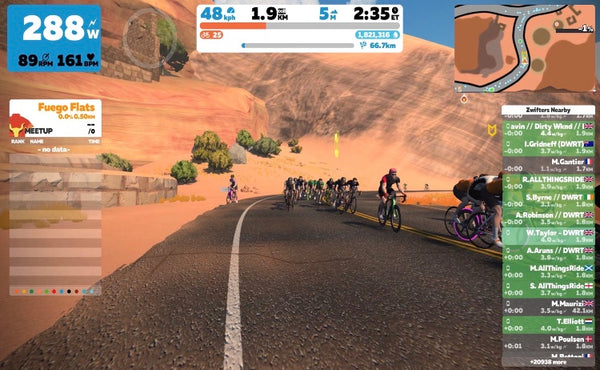 Zwift group rides april