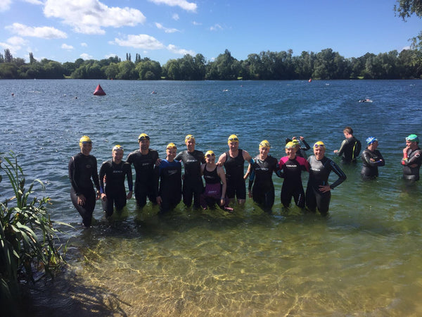 open water swimming in London