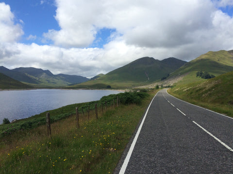 Blog Post Cycling in Scotland Isle of Skye