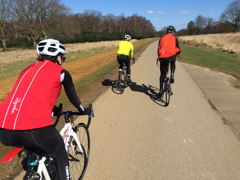 Dirty Wknd Group Ride London