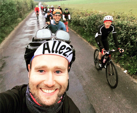 Group Cycling in the Surrey Hills