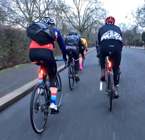 Cycling In Regents Park London