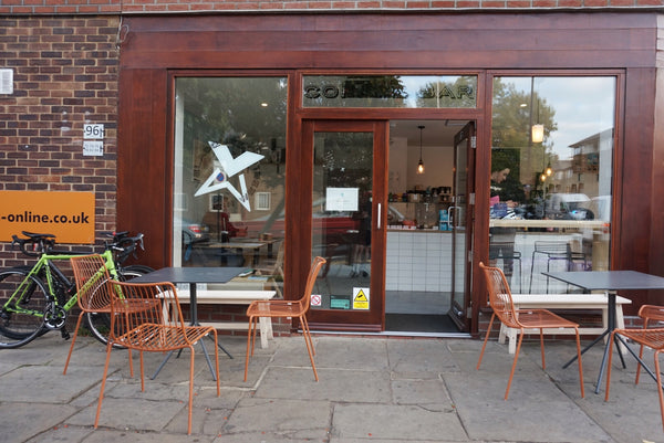 cycling cafe north London
