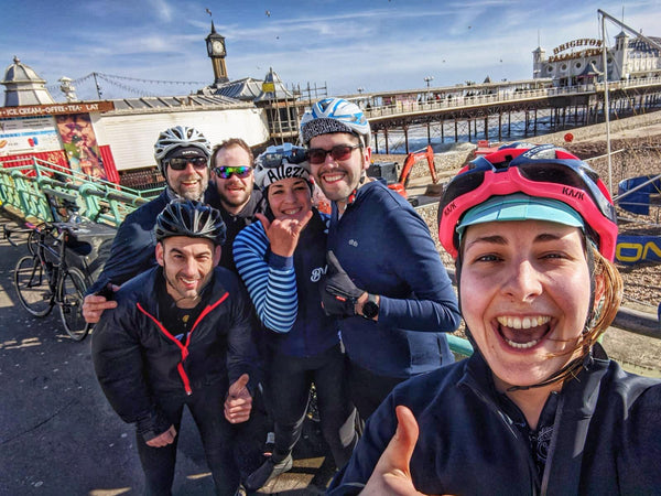 London to Brighton cycling Route