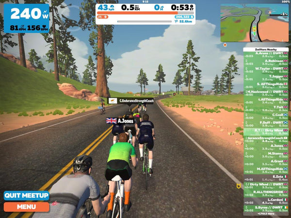 May zwift group rides