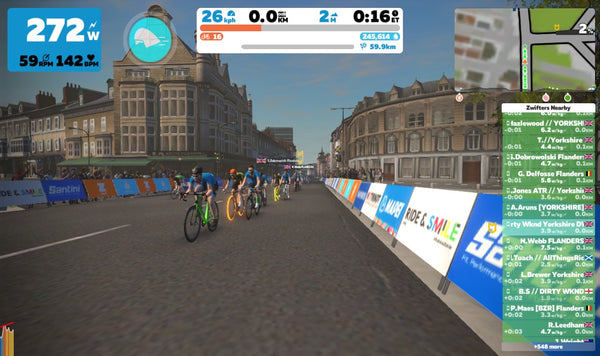 How to join a Zwift race