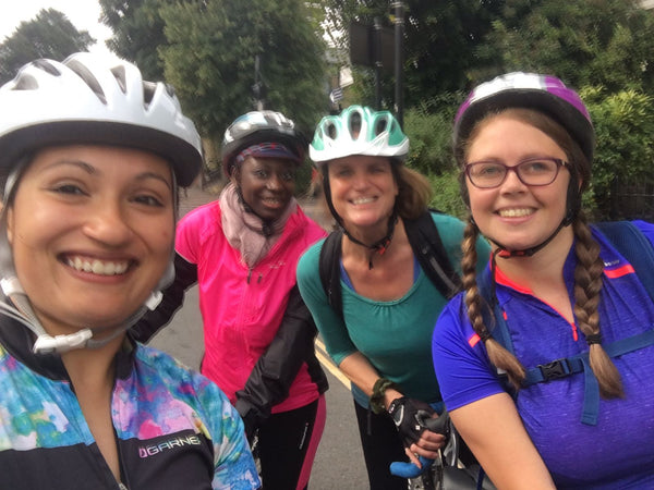 join a beginner group ride in London