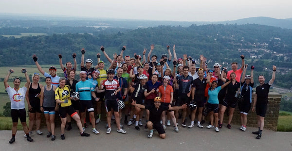 Queen of the mountains group rides London