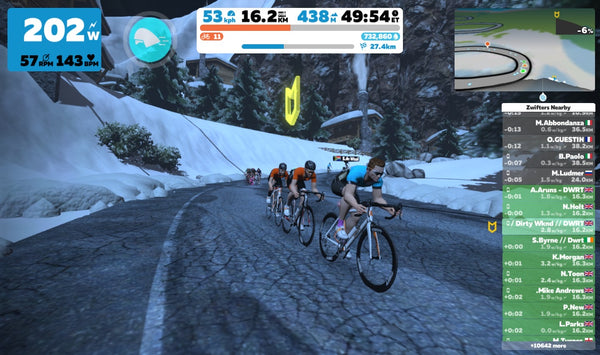 Best April events on Zwift