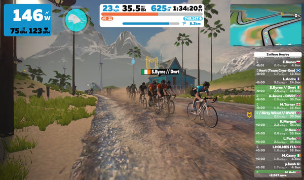 Beginners guide to Zwift rides