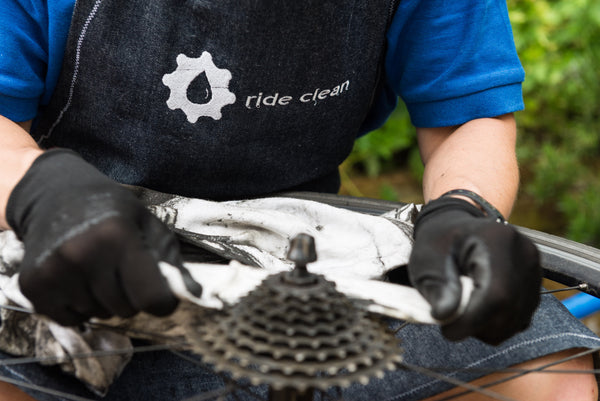 how to clean chain road bike
