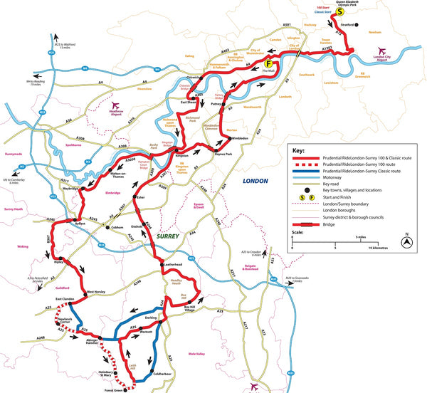 Ride london route 2020