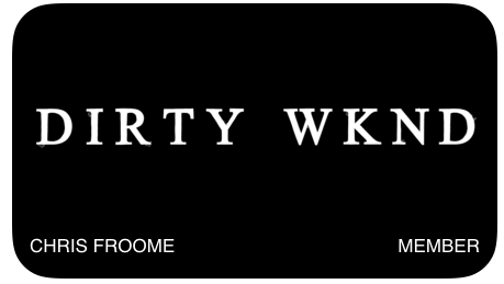 dirty wknd membership discount card
