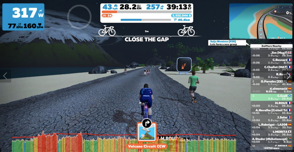 How to win a Zwift race