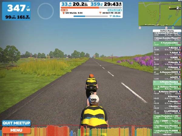 Zwift racing tips
