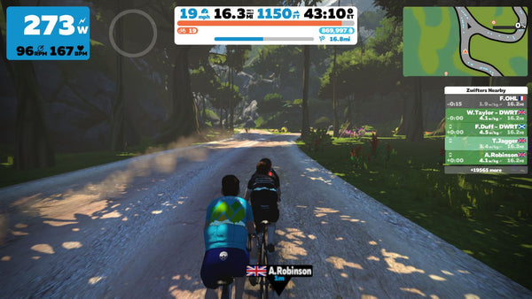 Best zwift group rides in April