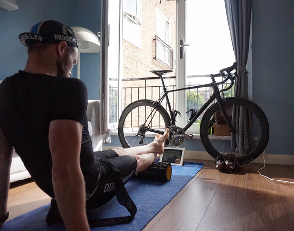 Foam rolling for cyclists