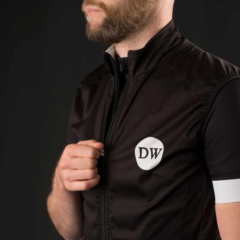 Dirty Wknd Maglia Nera Gilet - Mens - Dirty Wknd