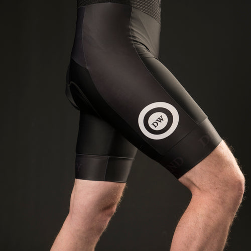 Dirty Wknd Maglia Nera Bib Shorts  - Mens - Dirty Wknd