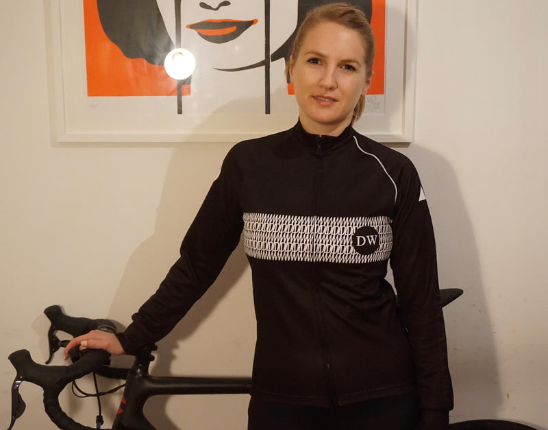 Dirty Wknd Maglia Nera Long Sleeve Racer Jersey - Womens - Dirty Wknd