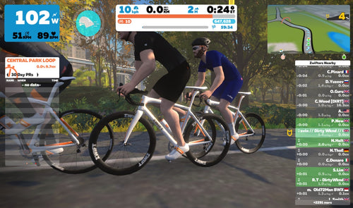 DW Saturday Zwift Group Ride: 9am - 11am - Dirty Wknd