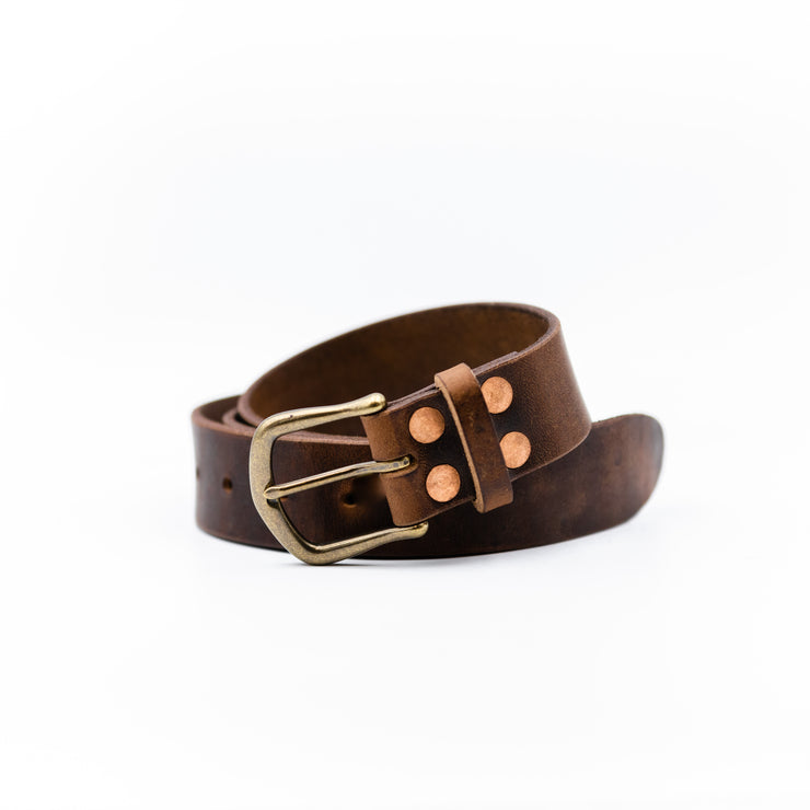 Brown Nut Dublin Belt