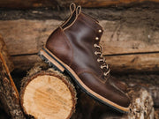 Ready to Ship: Chestnut Waxed Flesh 8.5EE
