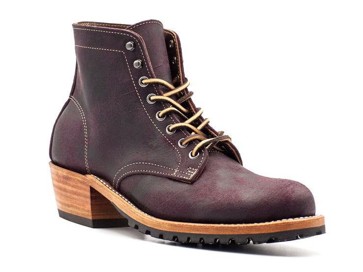 Black Burgundy Rambler Women's Boot