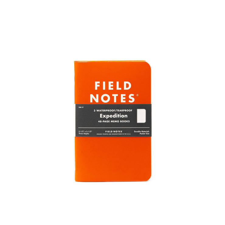 Field Notes: Expedition Edition