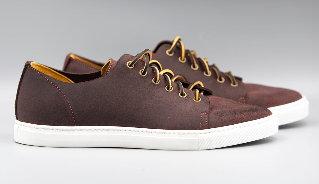 Berry Waxy Commander Sneaker