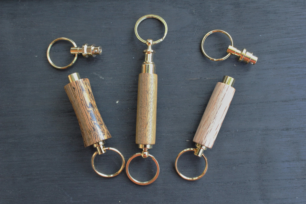 Detachable Key Chain in wood
