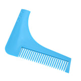 Beard Shaping Tool and Comb