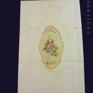 Antique Greetings Card, Victorian.