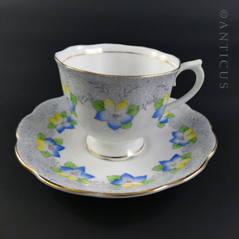 Royal Albert Vintage Cup and Saucer.