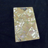 Mother of Pearl Calling Card Case.