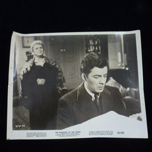 Original Cinema Lobby Card, 1962 Phantom, Herbert Lom.