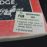 Vintage Auto Bridge Game.